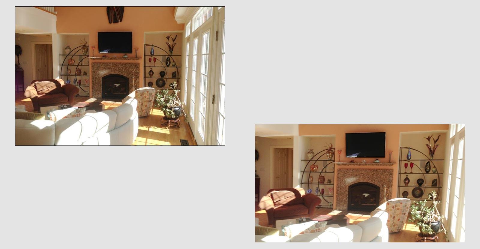James home interior renovation hatchett contractors for Interior contractors
